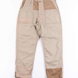 Engineered Garments - Khaki 6.5oz Flat Twill Fatigue Pant