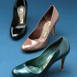 MIHARAYASUHIRO - patent leather pumps