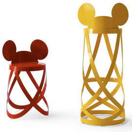 CAPPELLINI × Nendo  - Mickey's Ribbon Stool limited edition