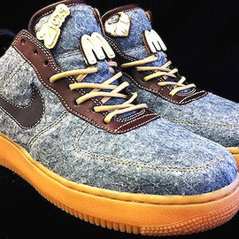 Nike - NIKE AIR FORCE 1 CUSTOMIZED By PMK