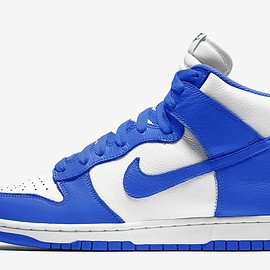NIKE - Dunk Hi - White/Game Royal