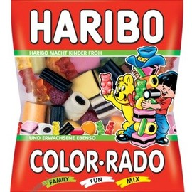HARIBO - Haribo Color-Rado Gummi Candy / 200g / 7.1oz.