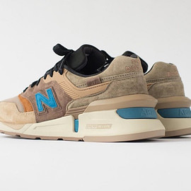 New Balance, Kith, NONNATIVE - M997S - Beige/Brown/Cobalt/Black?