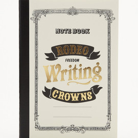 RodeoCrowns - WRITING NOTE BOOK B6