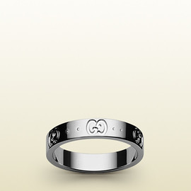 Gucci - icon thin band.