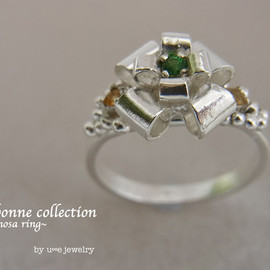 u∞e jewelry - Ribonne ring ~mimosa~