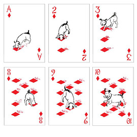 John Littleboy - トランプ  Pack of Dogs Playing Cards Artiphany
