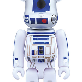 MEDICOM TOY - BE@RBRICK R2-D2(TM) (STAR WARS(TM) 40th Anniv. Ver.)