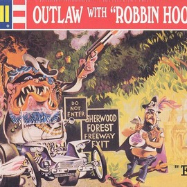 Revell - Ed Roth OUTLAW WITH ROBBIN HOOD FINK
