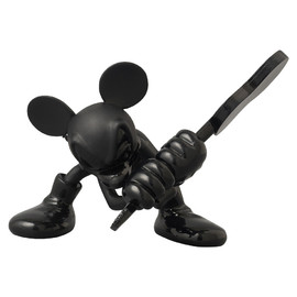 MEDICOM TOY - UDF MICKEY MOUSE(ROEN collection - TONE on TONE Ver.) GUITAR Ver.
