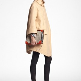 Carven - 2013AW oversized coat