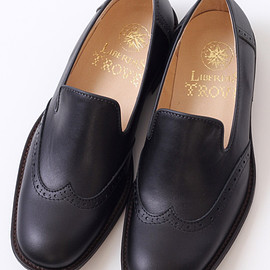 TROVE - TROVE x LIBERTAS / LEATHER SLIP-ON ( SHOP LIMITED )