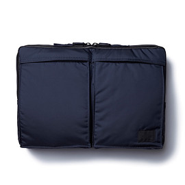 "HEAD PORTER - ""MASTER NAVY"" LAPTOP CASE 11inch"