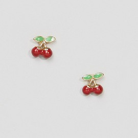 ASOS - Mini Chery Stud Earrings