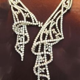 BVLGARI - diamond necklace