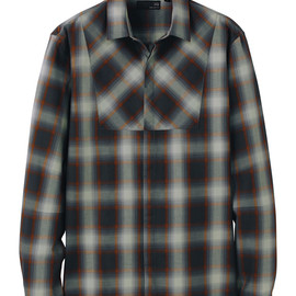 UU - UU Check long sleeve shirt A+