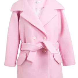 CARVEN - Oversized Boiled Wool Coat