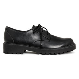 h&m - black clunky shoes
