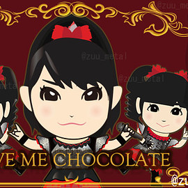 BABYMETAL - Gimme chocolate!!