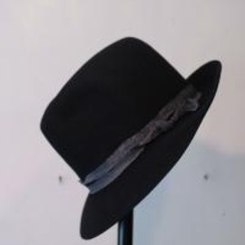 TAKAHIROMIYASHITA The SoloIst. - nobled hat. -black.-