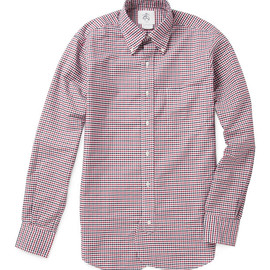 BLACK FLEECE BY Brooks Brothers - Gingham Check Oxford Shirt