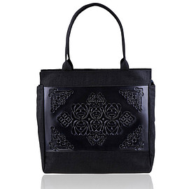 Paris shoulder bag/black-black