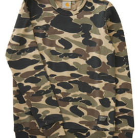 carhartt - Camo Sweat (camo)