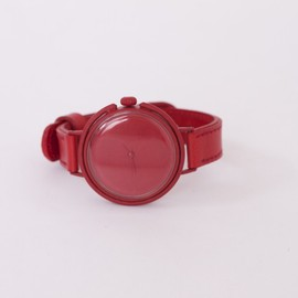 Assembly New York + Neji Commu - Large Watch – Red