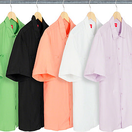 Supreme - Silk S/S Work Shirt