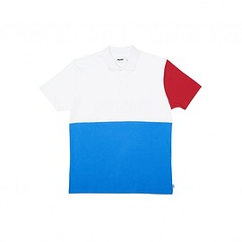 Palace Skateboards - PIQUE POLO RED/WHITE/NAVY