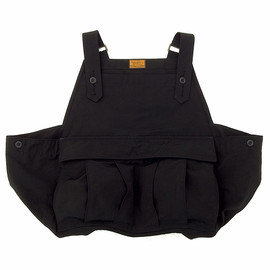 BROWN by 2-tacs - SEED IT VEST BLK (Cotton 60% , Nylon 40%)