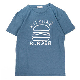 KITSUNE TEE - KITSUNE BURGER / KITSUNÉ TEE