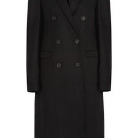 SEE BY CHLOE - Double-breasted wool-blend coat