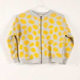 BOBO CHOSES - Sweat shirt zip multi Lemons