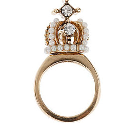 TOPSHOP - Jubilee Crown Ring