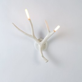 Jason Miller, Roll & Hill - Superordinate Antler Sconce