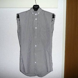 DIOR HOMME - 06S/S No Sleeve Check Shirt