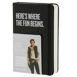 Moleskine - Moleskine 2013 12 Month Star Wars Limited Edition Daily Planner Black Hard Cover Pocket (Moleskine Legendary Notebooks (Calendars))