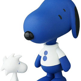 MEDICOM TOY - VCD SNOOPY & WOODSTOCK colette Ver.