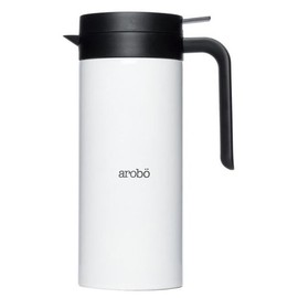 arobo - Double Wall Stainless Jug (White)