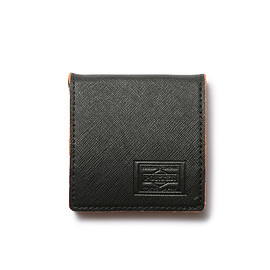"HEAD PORTER - ""CAPRI"" COIN CASE BLACK"