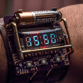 The ChronodeVFD Resurrects Old Displays For A Cool New Watch