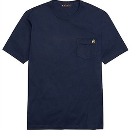 Brooks Brothers - スーピマコットン GF Tシャツ with ポケット(NAVY)