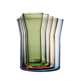 Holmegaard - Spectra vase - 5 pieces - Holmegaard