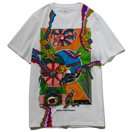 STUSSY - Keiichi Collage Tee