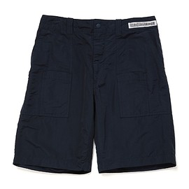 UNIVERSAL PRODUCTS - WASHED COTTON/NYLON SHORTS