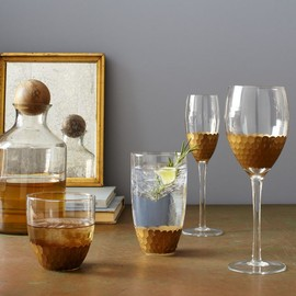 west elm - Honeycomb Glassware Set