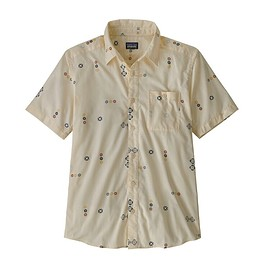 patagonia - M's Go To Shirt, Micro Mixture: White Wash (MCWA)