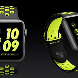 Apple - Apple Watch Nike+
