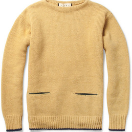 Marni - Pocket-Front Wool-Blend Sweater
